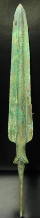 Elamite Bronze Javeline/ Spear Head