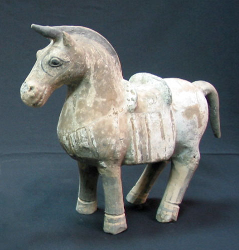 Han Painted Terracotta Horse