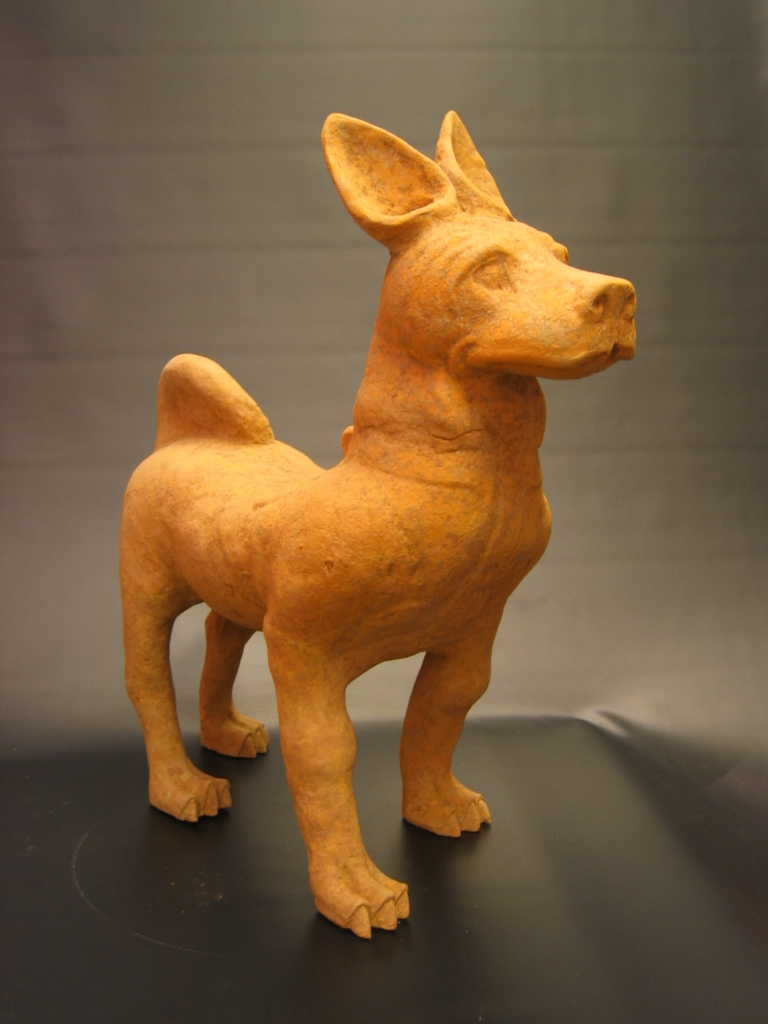 Han Dynasty Painted Pottery Walking 'Sichuan' Dog