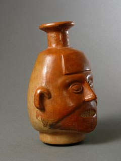 Incan Vessel in the Form of a Head
