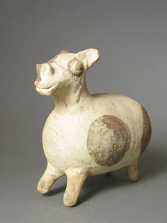Chancay Sculpture of a Female Llama