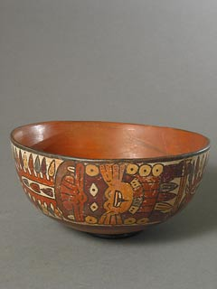 Early Nazca Polychrome Bowl