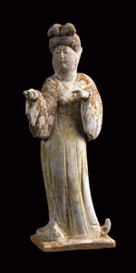 Tang Terracotta Lady-in-Waiting