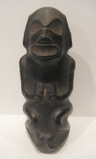 Taino stone sculpture of a Zemi