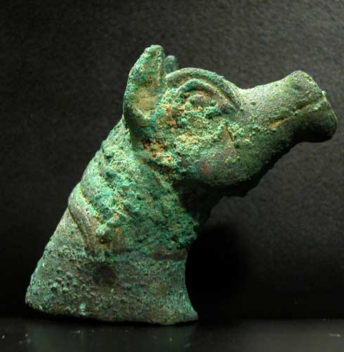 Bronze Head of a Horse