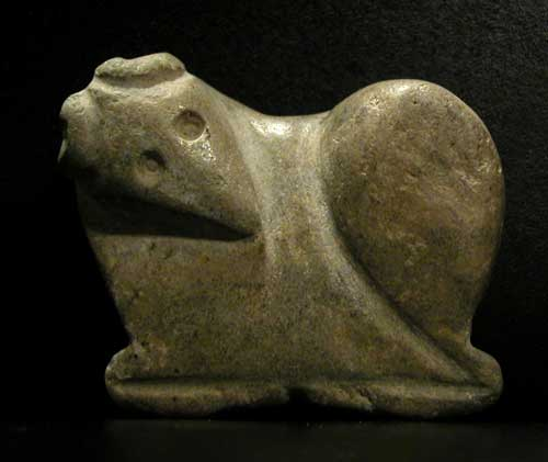 Stone Pendant in the Shape of a Ram
