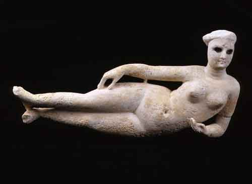 Figure of a Reclining Aphrodite