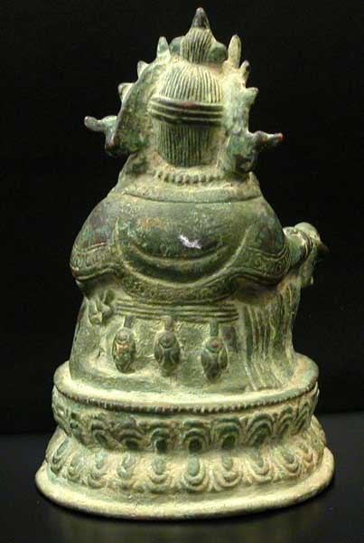 Bronze Figurine of a Seated Kubera