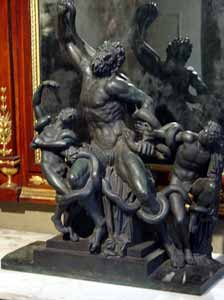 Bronze Sculpture of the Laocoon Group