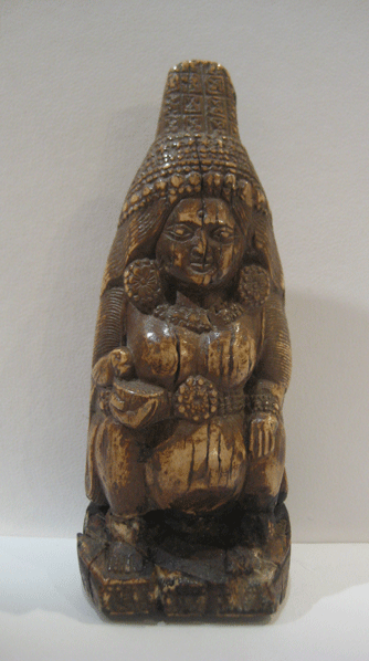 Gupta Ivory Female with Parrot