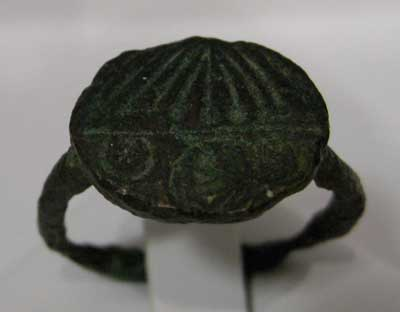 Late Roman Bronze Ring
