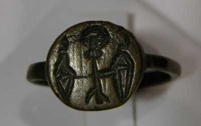 Roman  Bronze Signet Ring