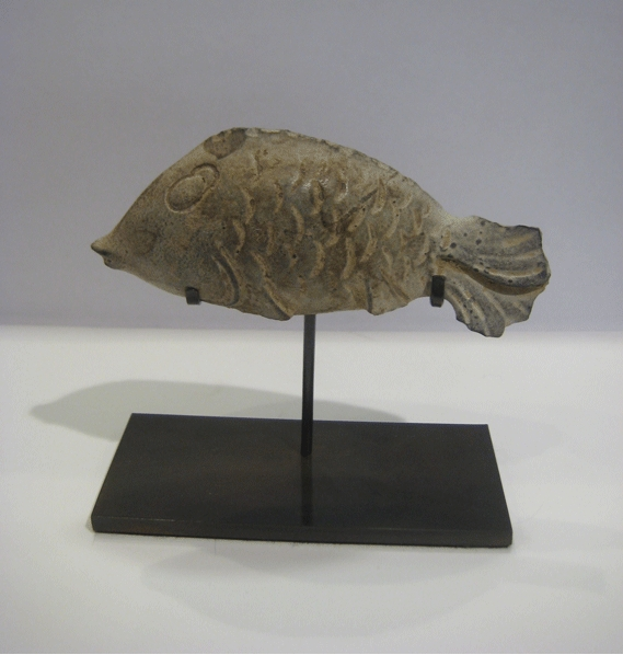 Neolithic Flint Sculpture of a Fish