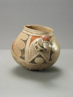 Casas Grandes Polychrome Jar in the Form of a Duck
