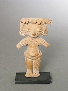 Michoacan Sculpture of a Standing Man