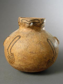 Cocle Terracotta Avian Effigy Vessel