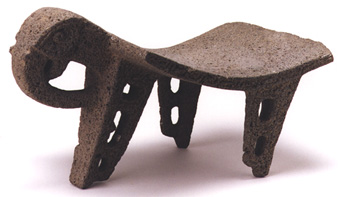 Atlantic Watershed Ceremonial Basalt Avian Metate