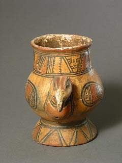 Nicoyan Avian Effigy Vessel