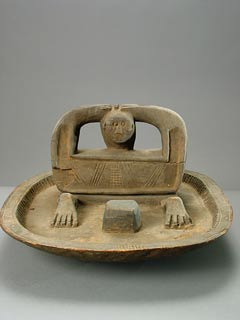 Idoma Wooden Divination Tray