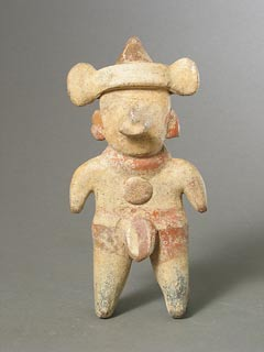 Nayarit Sculpture of a Standing Man