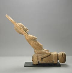 Dogon Wooden Sculpture of Nommo