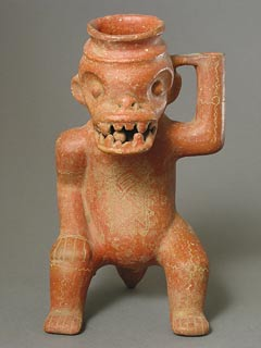 Terracotta Effigy Vessel