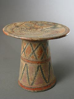 Cocle Terracotta Pedestal Bowl