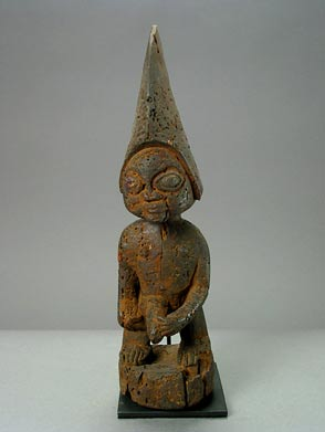 Yoruba Wooden Sculpture of Esu