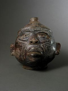 Guanacaste-Nicoya Terracotta Trophy Head