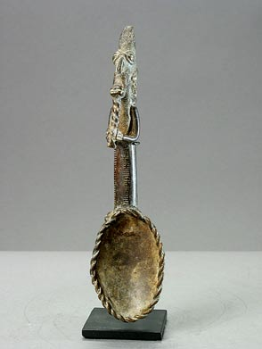 Fanti Bronze Spoon for Measuring Gold