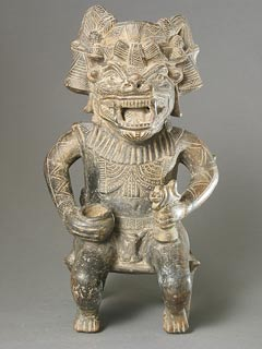 Tairona Vessel in the Form of a Masked Man