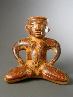 Guanacaste-Nicoya Sculpture of a Seated Woman