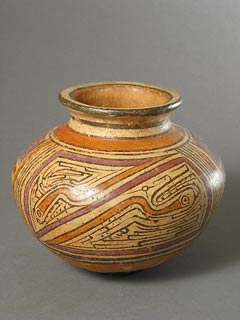 Cocle Terracotta Round Vase