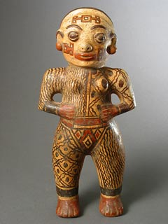Polychrome Standing Female