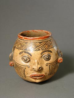 Terracotta Trophy Head