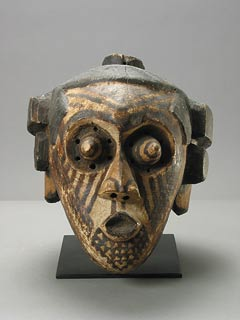 Kuba Painted Wooden Pwoom Itok Mask