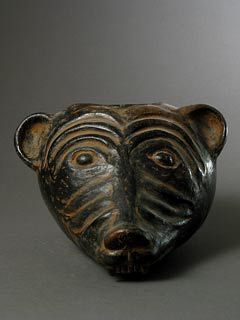 Ceramic Animal Effigy Vessel