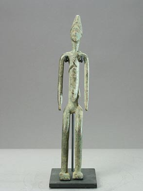 Dogon Bronze Sculpture of a Man