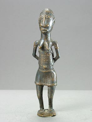 Dogon Brass Sculpture of a Woman