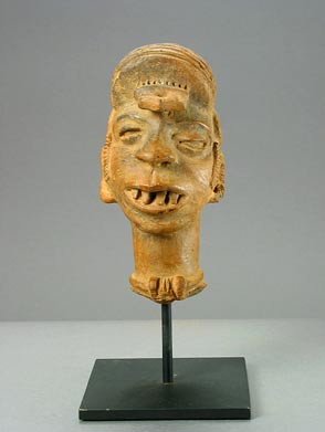 Igbo Terracotta Bust of a Man