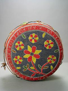 Yoruba Oba's Beaded Cushion