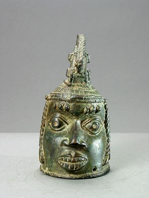 Benin Bronze Head of an Oba