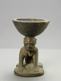 Yoruba Wooden Divination Bowl