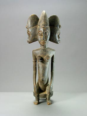 Senufo Woman with Three Heads