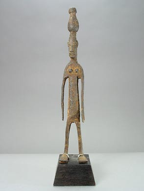 Bambara Iron Sculpture of a Woman