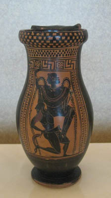 Attic Black-Figure Olpe