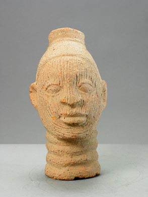 Ife Style Terracotta Bust of a Man