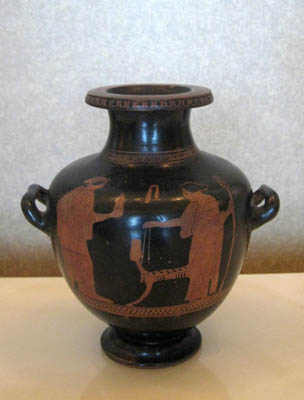 Attic Red-Figure Hydria