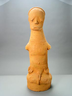 Katsina Seated Figure