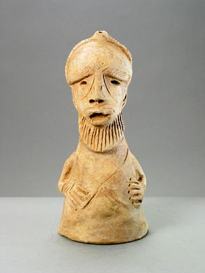 Sokoto Terracotta Sculpture of a Man